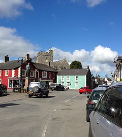 Tregaron Town walking tour